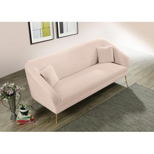 "Hermosa Velvet Sofa - 87"" W x 34.5"" D x 34.25"" H"
