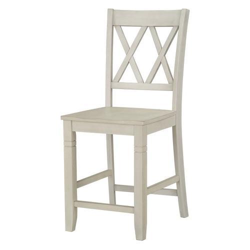 Standard Furniture - Benton X-Back Barstools, White