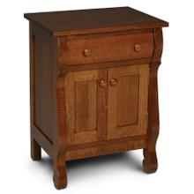 Empire Nightstand with Doors