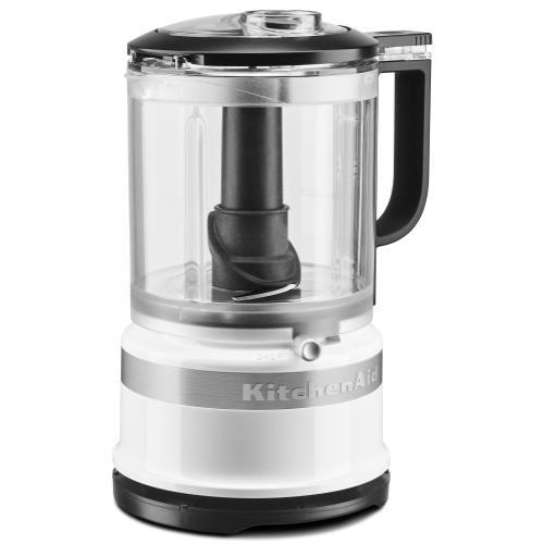 KitchenAid - 5 Cup Food Chopper - White
