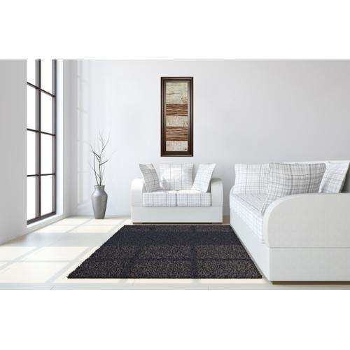 """White Stripes Il"" By Natalie Avondet Framed Print Wall Art"