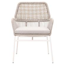 Knit Outdoor Arm Chair