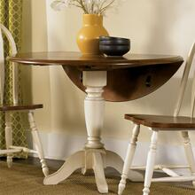 View Product - Drop Leaf Pedestal Table Top