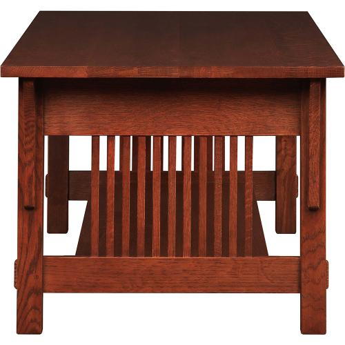 Cherry Three Drawer Cocktail Table