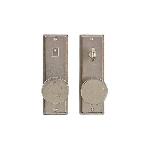 """Stepped Privacy Set - 2 1/2"""" x 8"""" Silicon Bronze Brushed"""