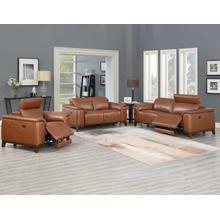 Product Image - Bergamo 3- Piece Dual-Power Leather Reclining Set (Sofa, Loveseat & Chair)