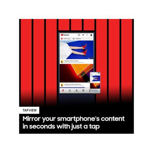 "Samsung - 43"" Class The Sero QLED 4K UHD HDR Smart TV"