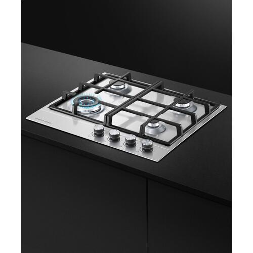 "Gas on Steel Cooktop, 24"", LPG"