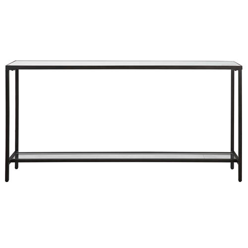 Hayley Console Table, Black