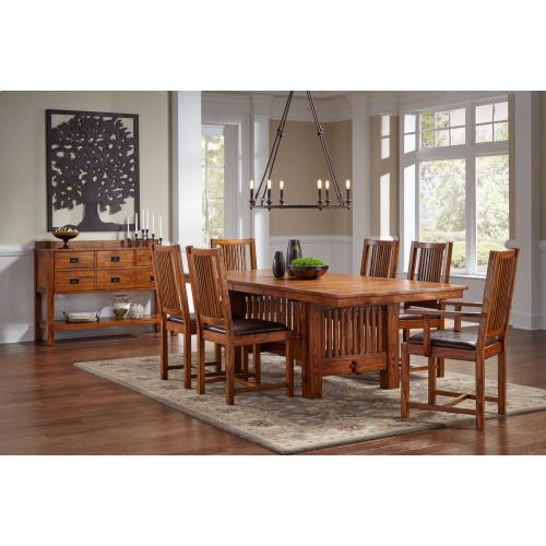 A America - Mission Trestle Table