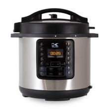 Kalorik 8 Quart 10-in-1 Multi Use Pressure Cooker, Stainless Steel