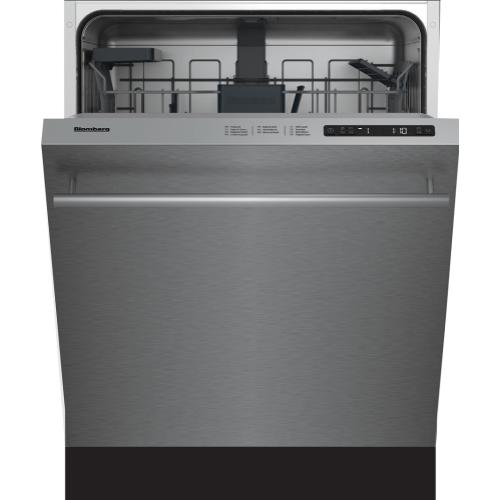 "24"" ADA height dishwasher 5 cycle top control stainless 48 dBA"