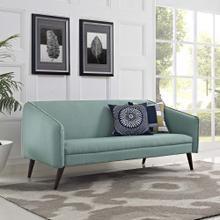 Slide Upholstered Fabric Sofa in Laguna
