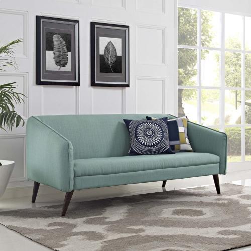 Slide Upholstered Fabric Sofa in Laguna