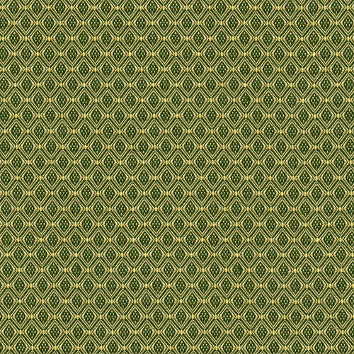 Flash Furniture - 18.5''W Church Chair in Canterbury Olive Fabric - Gold Vein Frame