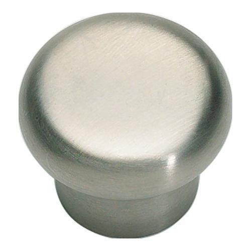 Atlas Homewares - Round Knob 1 1/4 Inch - Stainless Steel