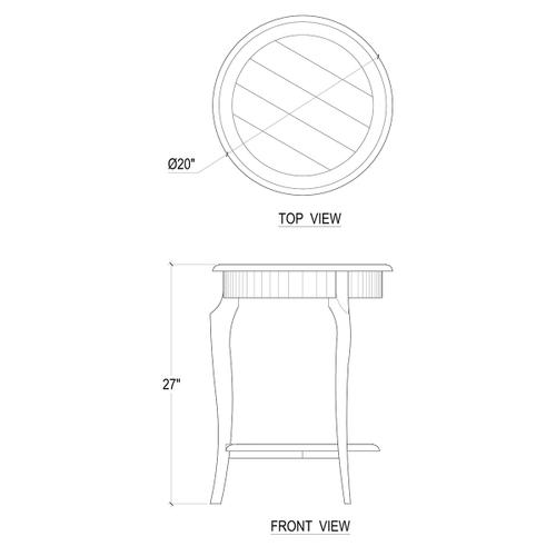 Gallery - Sudley Side Table