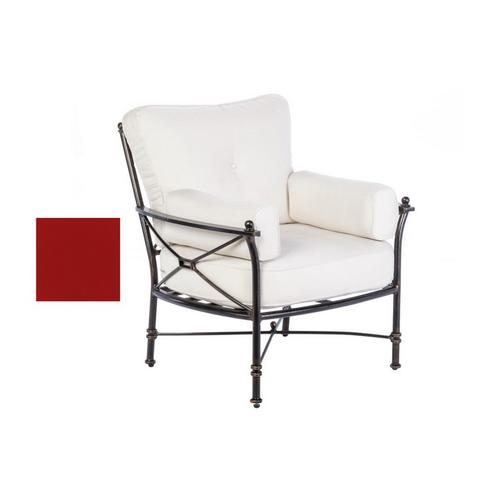 Gables Dining Swvl Arm Chair w/SB Jockey Red cush