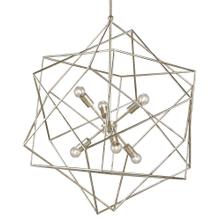 Aerial Silver Chandelier