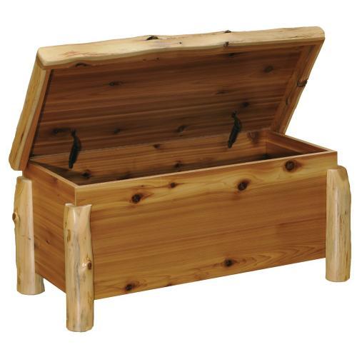 Blanket Chest - Natural Cedar