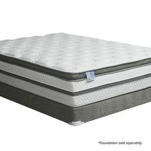 """See Details - Queen-Size Siddalee 16"""" Euro Pillow Top 2.5"""" Gel Infused Memory Foam"""