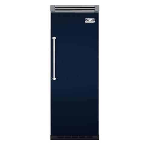 """Viking - Viking Blue 30"""" Quiet Cool™ All Refrigerator - VIRB Tru-Flush™ (Right Hinge Door)"""