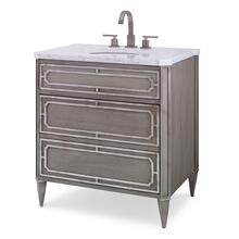 See Details - Emperor Medium Sink Chest - Ash Grey