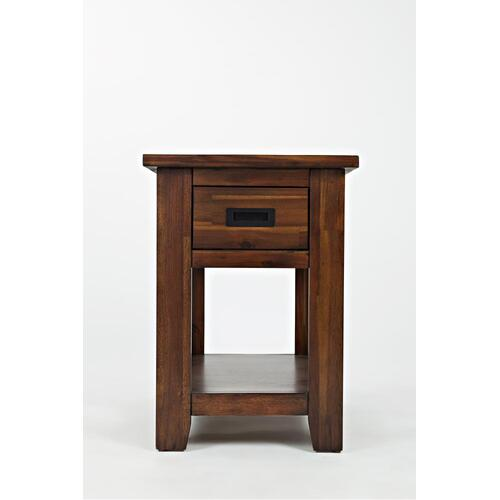 Coolidge Corner One Drawer Chairside Table