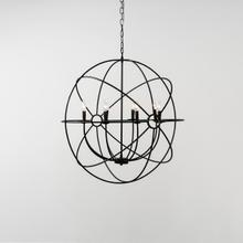 See Details - Derince Iron Chandelier Large