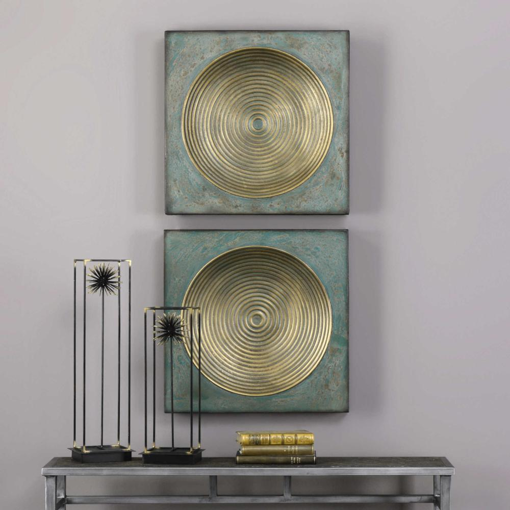 See Details - Sybil Metal Wall Decor, S/2
