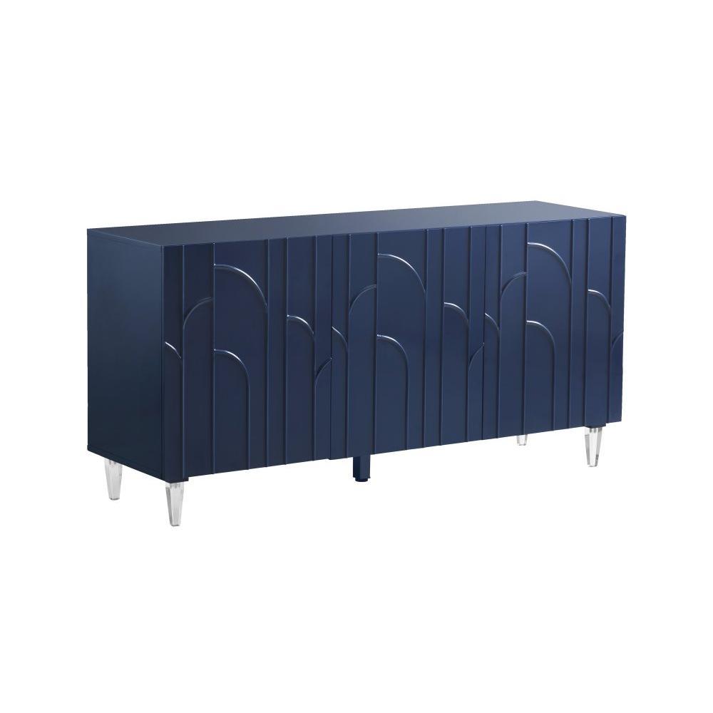 Deco Blue Lacquer Buffet