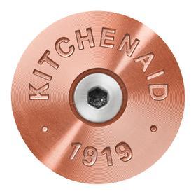 KitchenAid® Commercial-Style Range Handle Medallion Kit - Copper