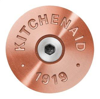 KitchenAid™ Commercial-Style Range Handle Medallion Kit, Copper - Other
