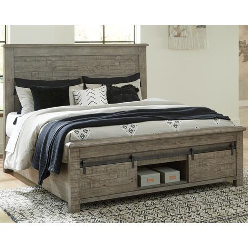 Brennagan King Panel Bed With Storage