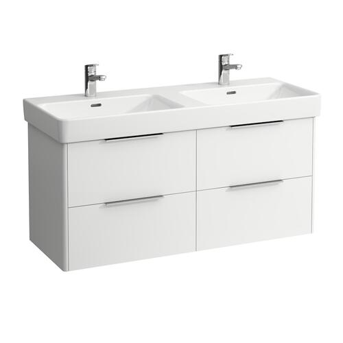 Traffic Grey Vanity unit, 4 drawers, incl. drawer organizer, matching washbasin 814966