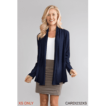That's a Wrap Ribbed Cardigan - XS (3 pc. ppk.)