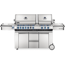 Prestige PRO 825 RSBI with Power Side Burner, Infrared Rear & Bottom Burners , Stainless Steel , Propane