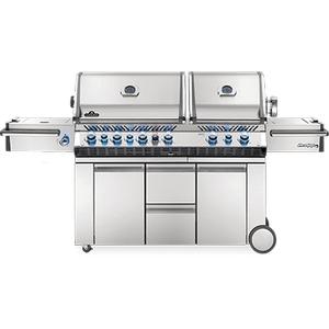 Napoleon BBQPrestige PRO 825 RSBI with Power Side Burner, Infrared Rear & Bottom Burners , Stainless Steel , Natural Gas