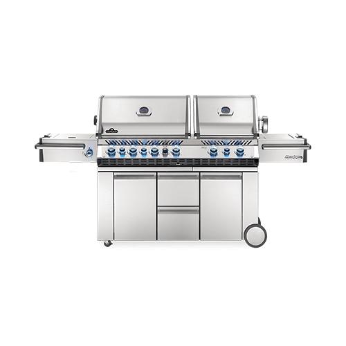 Prestige PRO 825 RSBI with Power Side Burner, Infrared Rear & Bottom Burners , Stainless Steel , Propane