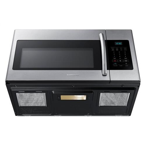 ME16H702SES Over the Range Microwave with Big Door Design, 1.6 cu.ft