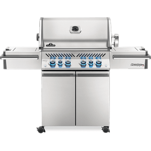 Napoleon BBQPrestige PRO 500 RSIB with Infrared Side and Rear Burners , Stainless Steel , Propane