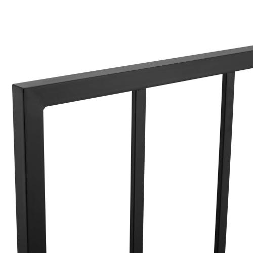 Tatum Twin Metal Headboard in Black