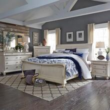 View Product - King Sleigh Bed, Dresser & Mirror, Chest, Night Stand