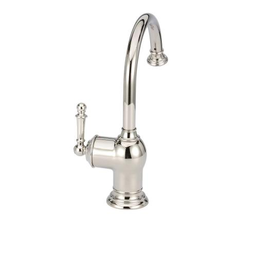 Iris Instant Hot Water Dispenser Faucet (F-H2300-Polished Nickel)