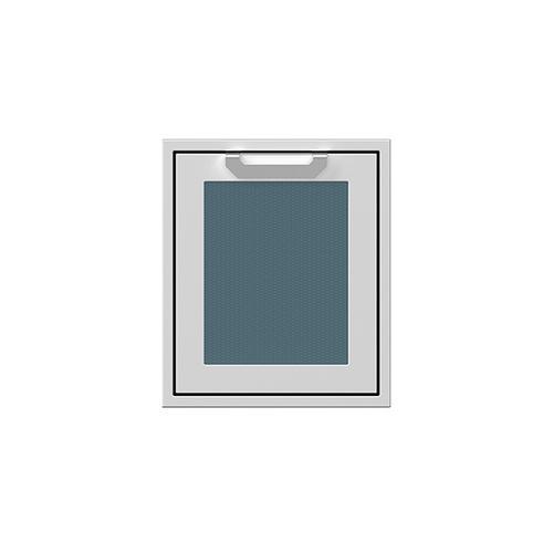 """18"""" Hestan Outdoor Single Access Door - AGADR Series - Pacific-fog"""