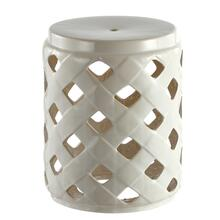 See Details - Betli Garden Stool - Cream