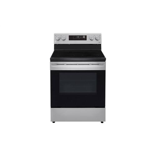 6.3 cu ft. Smart Wi-Fi Enabled Electric Range with EasyClean®