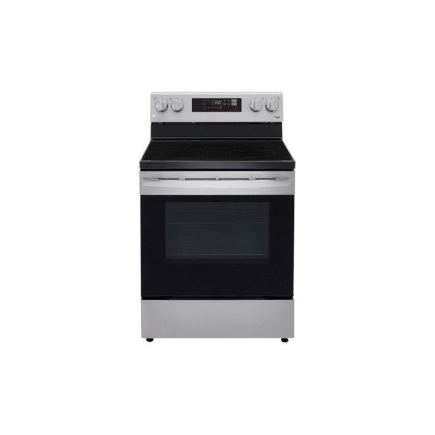 LG Appliances 6.3 cu ft. Smart Wi-Fi Enabled Electric Range with EasyClean®