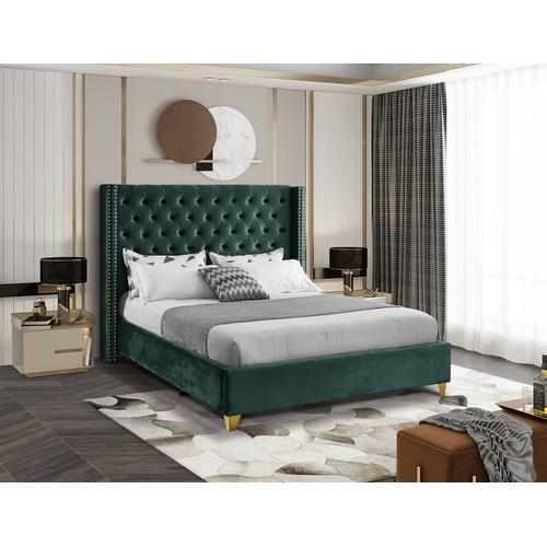 """Barolo Velvet Bed - 72"""" W x 86"""" D x 56"""" H"""