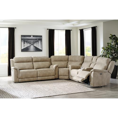 Next-gen Durapella 3-piece Power Reclining Sectional